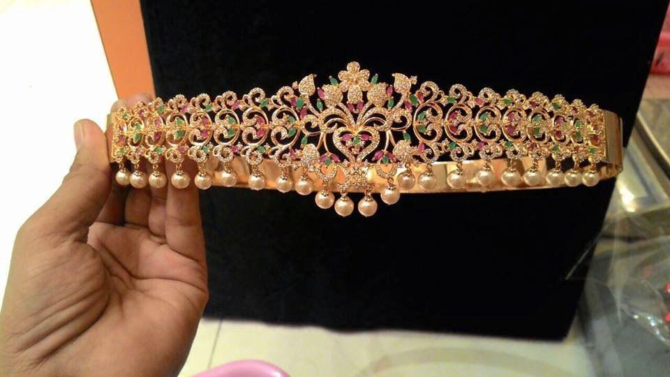 1578ccf4e220e Latest 1 Gram gold heavy Vaddanam designs in Belt model | jewellery ...