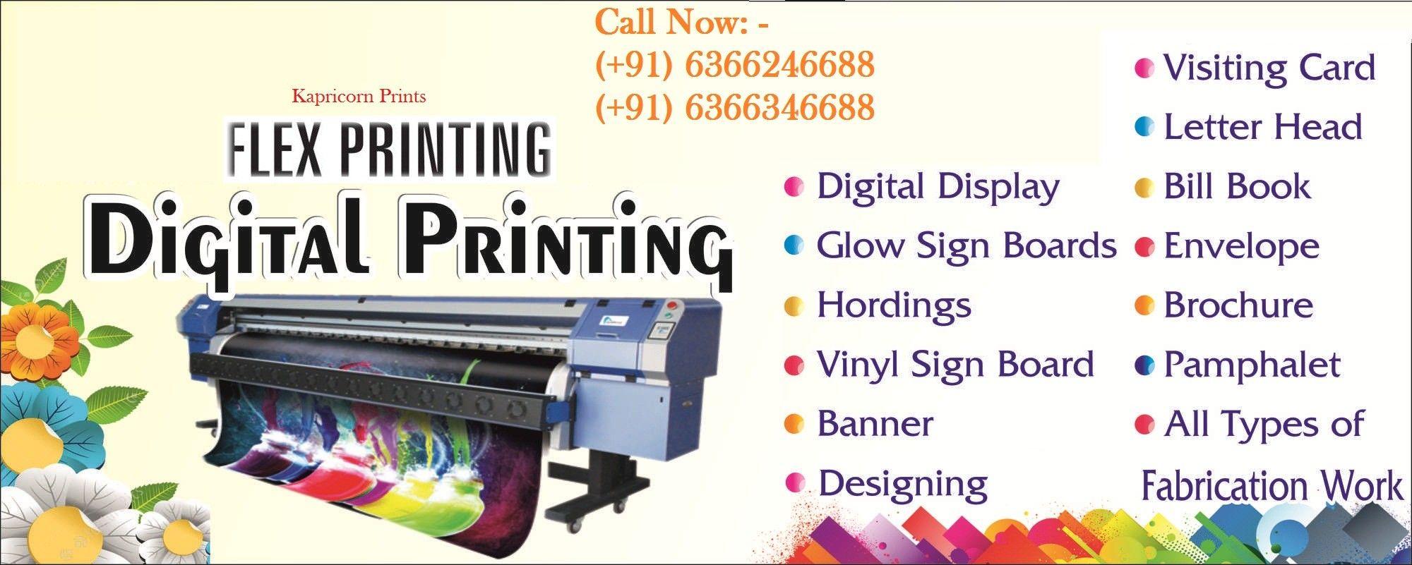 Flex Printing In Bangalore Printing Business Cards Digital Printing Services Banner Printing