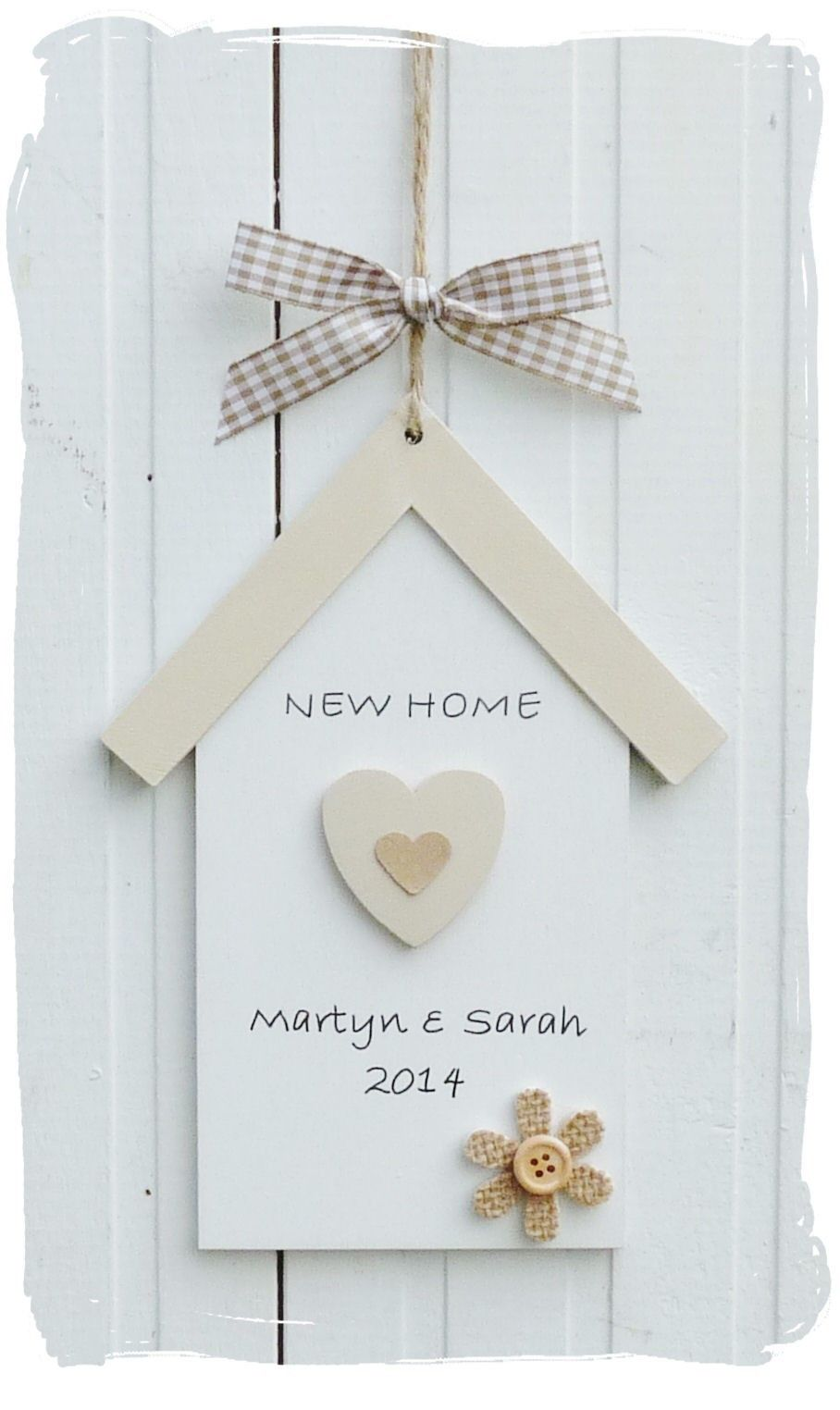 New Home Gift : www.bynicki.co.uk | card housewarming | Pinterest ...