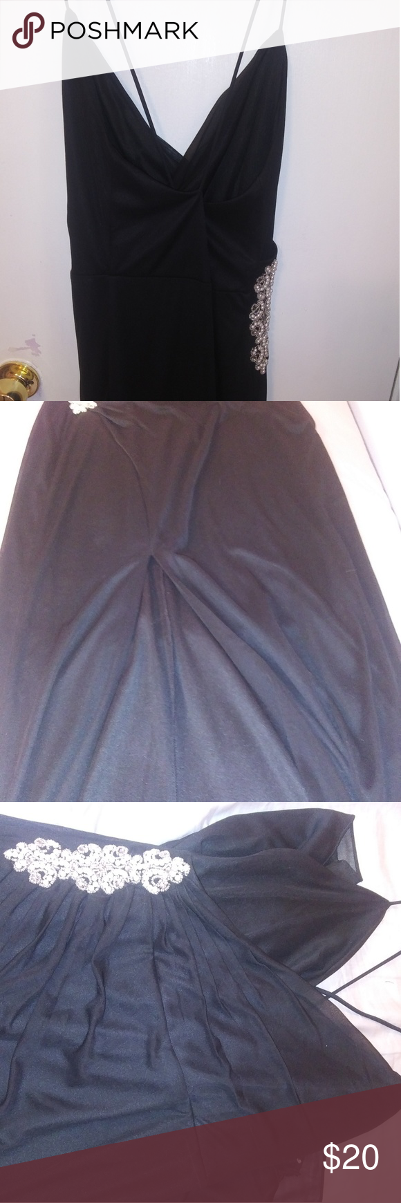 Black long night dress size my posh closet pinterest size
