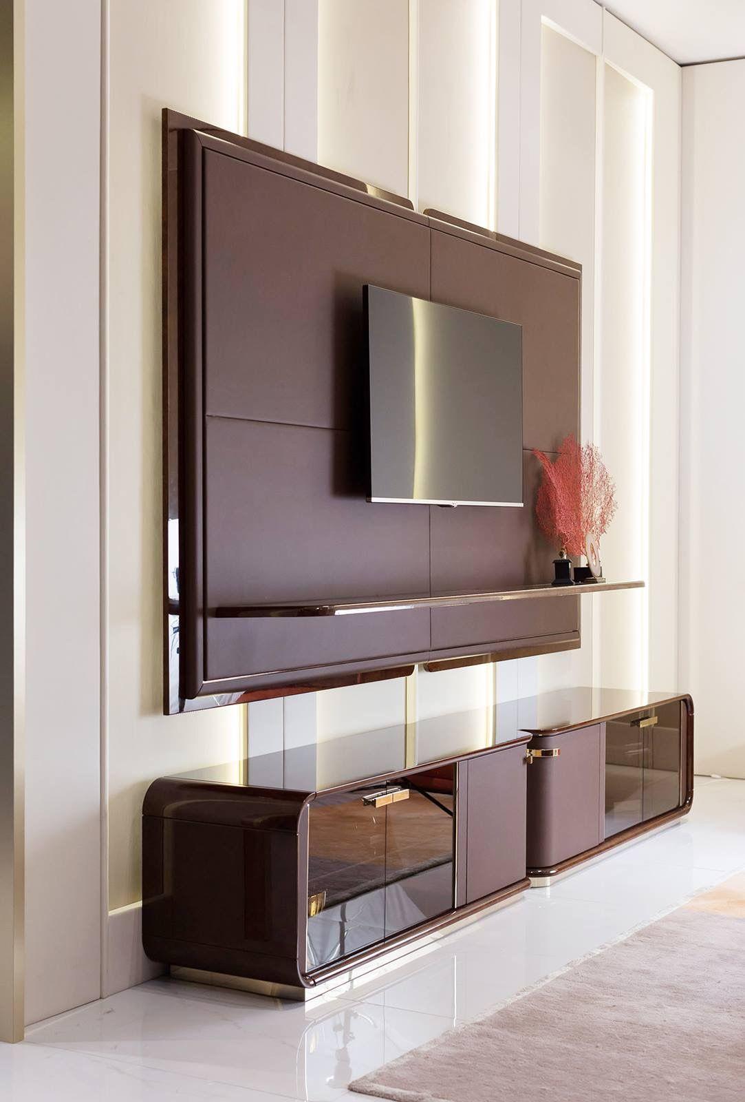 Pin by shivika dua on wardrobes & tv units   Modern tv ...