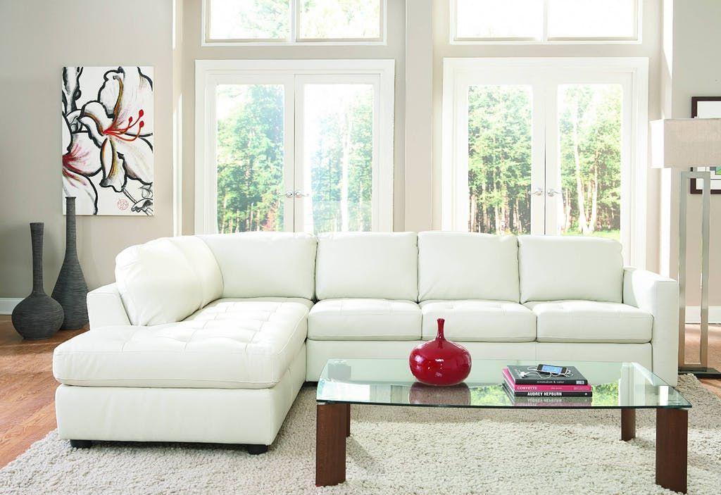 furniture arrangement with 2 sofas  denver 2piece leather
