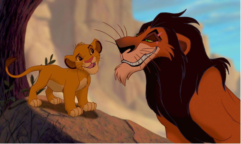 Scar Simba The Lion King King Cartoon The Lion King 1994 Lion King Movie