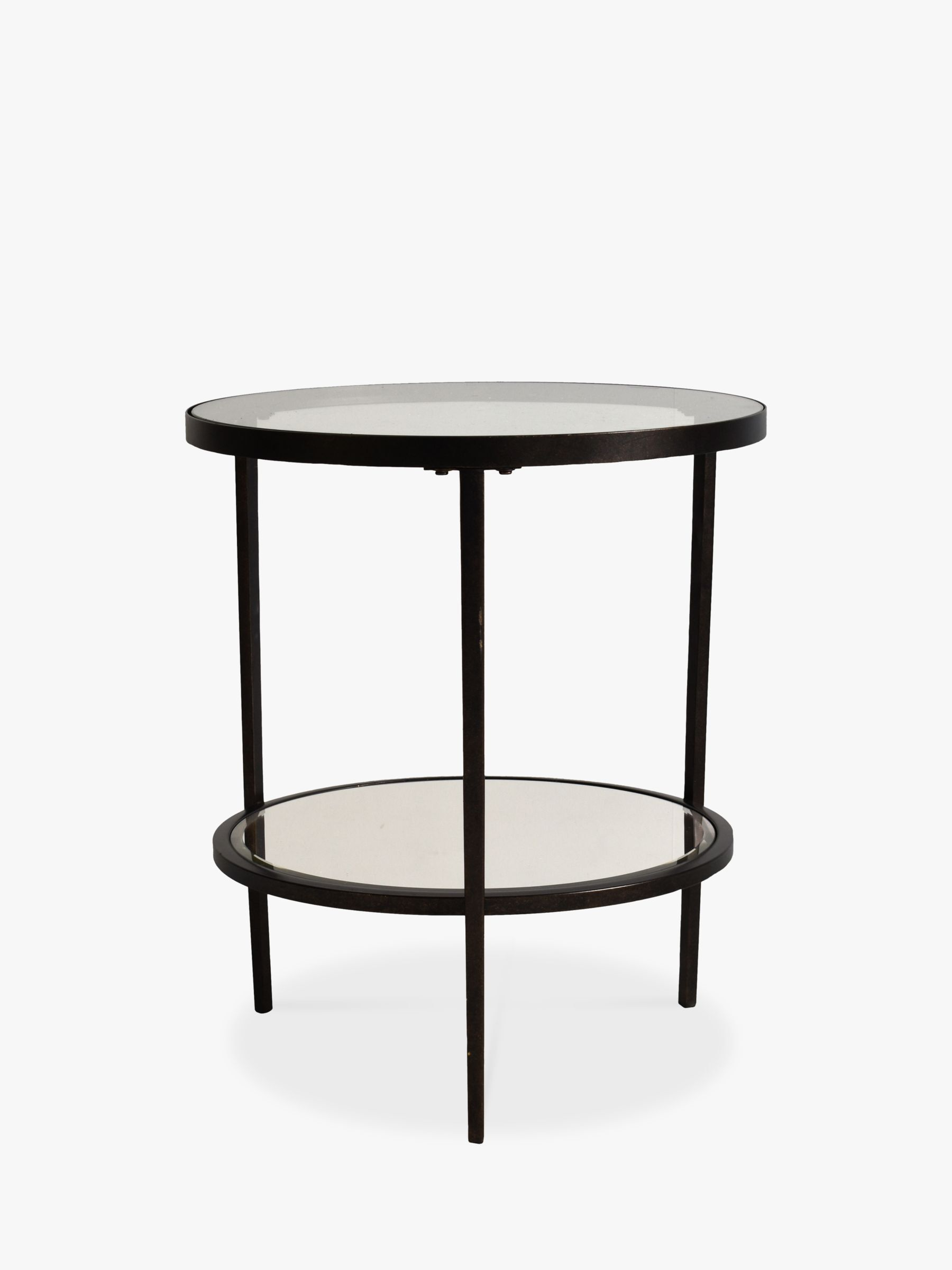 Hudson Living Glass Round Side Table Round Side Table Small Round Side Table Table