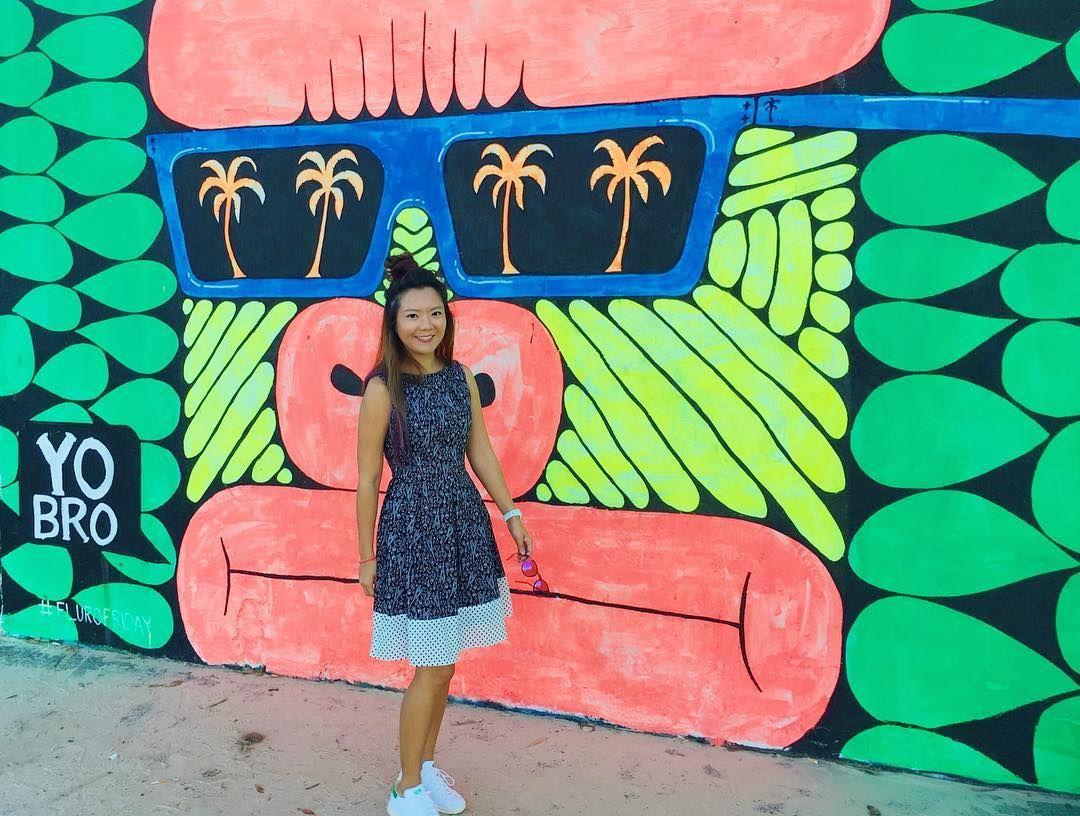 (Loc) Posted on June 01 2016 at 05:16PM: \  / a little bit of colour to get through the mid week hump Happy Hump Day  #humpday #middleofweek #happyhump #colourful #positivevibes #colourfulhumpday #graffiti #graffitiwall #bondi #bondibeach #bondigraffiti #sydney #sydneyart #sydneybeach #onepiecedress #blackdress #ootd #stansmith #outfits #aussie #aussiefashion #aussiegirl #aussiestyle by kirstytastyroad