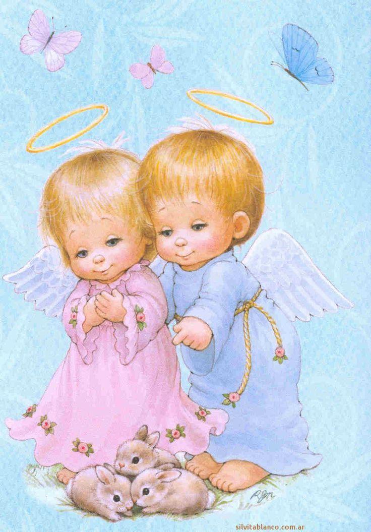 Little Angels Imagenes De Angeles Artesanias De Angeles Angeles De Navidad