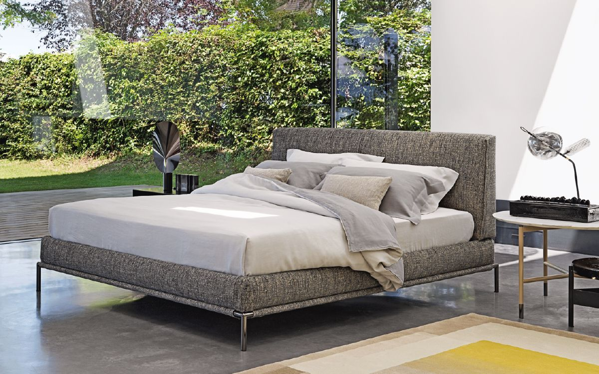 Double bed Icon Flou | Point Grey Road nel 2019 | Idee letto ...