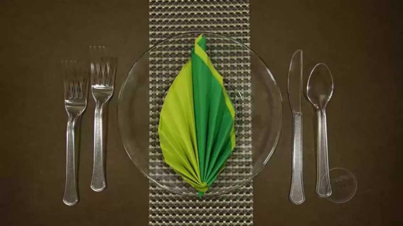 42+ Wedding napkin folding youtube information