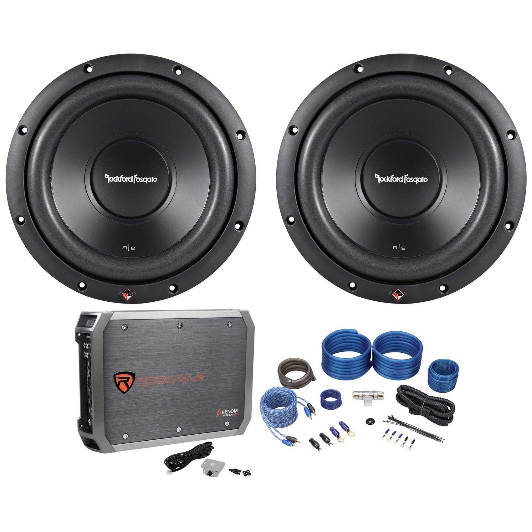 Package: (2) Rockford Fosgate Prime R2D4-10 10\