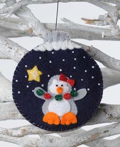 Molde para hacer esferas navide as de fieltro01 - Bolas de navidad de fieltro ...