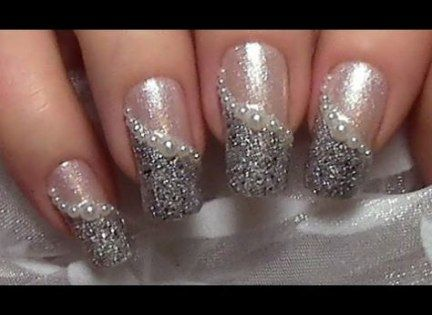 53 trendy wedding nails pearl tutorials with images