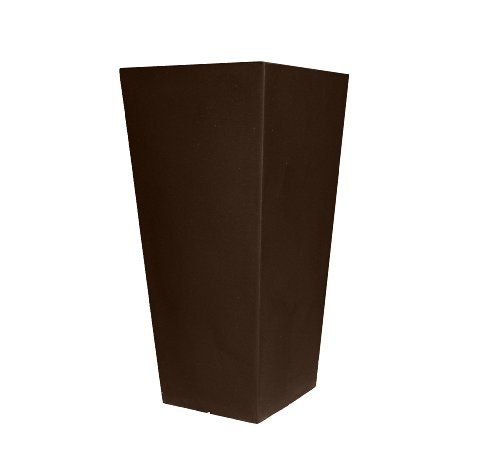 Tusco Products CTU32ES Cosmopolitan Tall Square Garden Planter, 32Inch, Espresso is part of Square garden Planters -