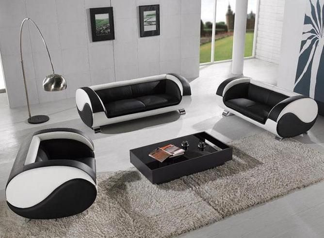 Harmony Ying Yang Contemporary Leather Living Room Sofa Set Modern Furniture Living Room Leather Sofa Living Room Living Room Leather