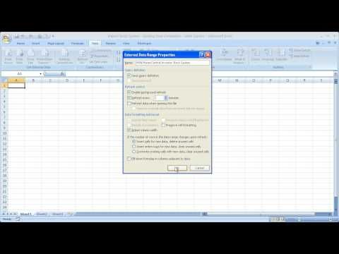 Msn Stock Quotes Delectable Finance In Excel 1  Live Stock Quotes In Microsoft Excel  Msn