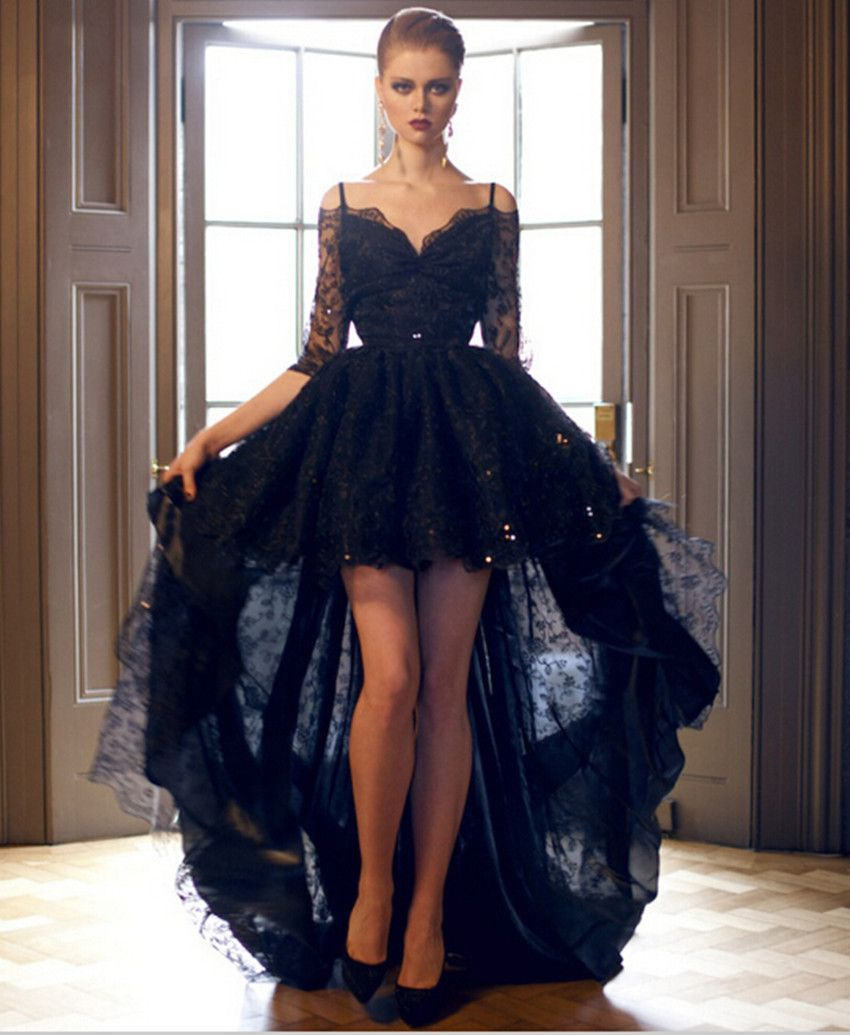Black dress goals - A Beautiful Black Dark Sexy Dress That Will Look Sexy On Anyone And Everyone Who Tries