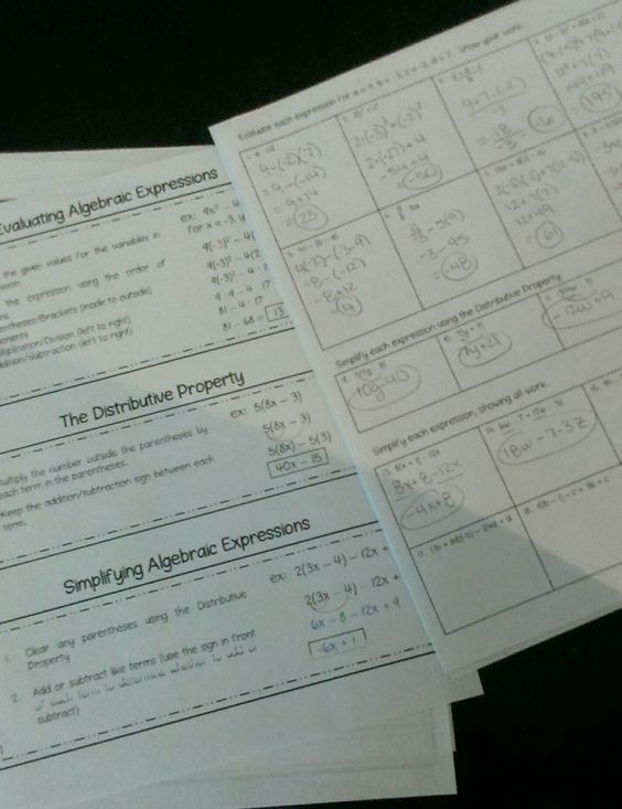 Pre-Algebra Review Packet (8th Grade Math) - End of Year Math Summer ...