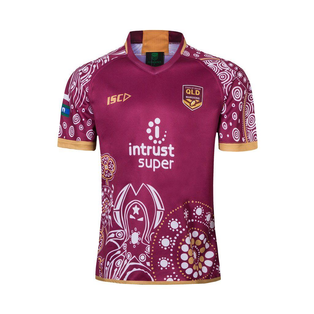 Queensland Rugby League Team Jersey Sport Mens 2019 Bnwt Rugby Jersey Design Team Jersey Rugby League