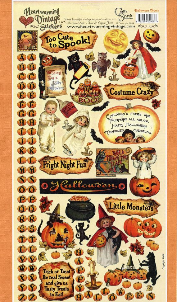 STICKERS - SALE! Halloween Fun Halloween fun, Halloween and Etsy