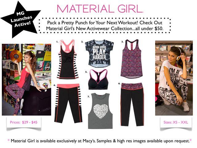 News Material Girls Madonna Material Girl Active Wear