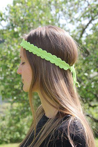Headband épais | Haarschmuck, Kleinigkeiten und Häckeln