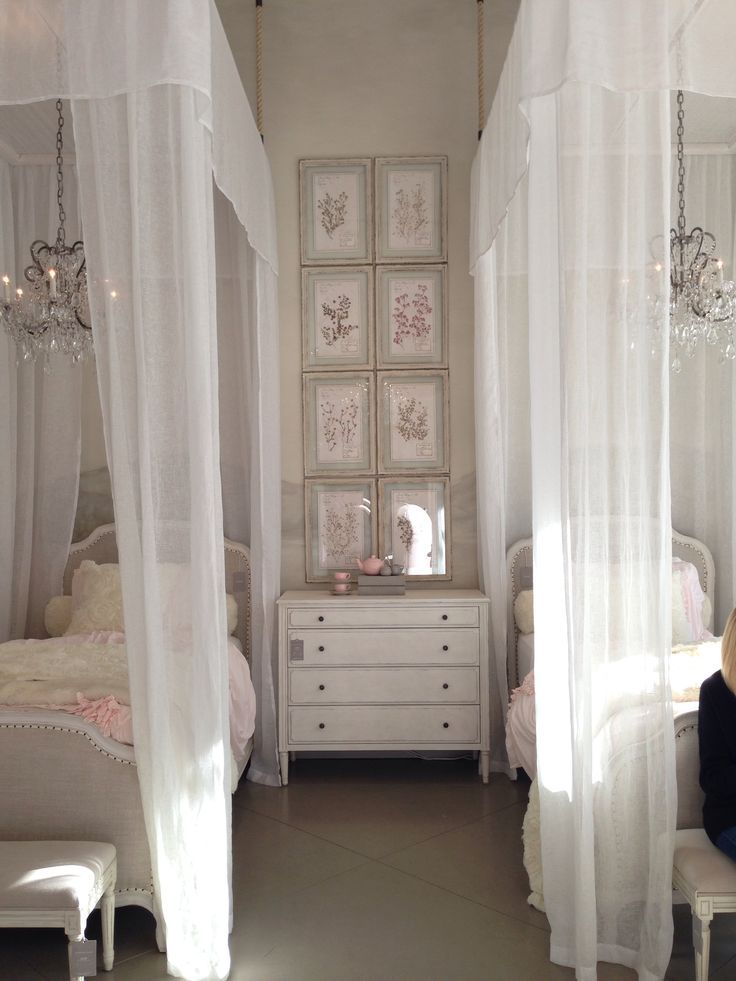 restoration hardware baby and child girls bedroom