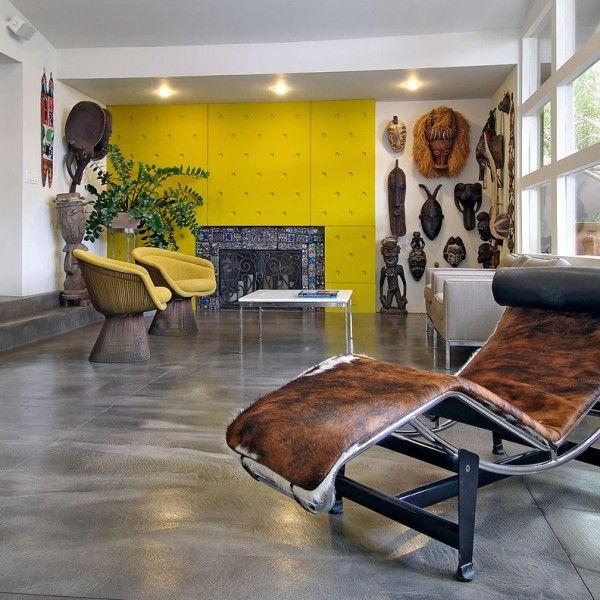 kultivierten Wohnzimmer-rustikale möbel