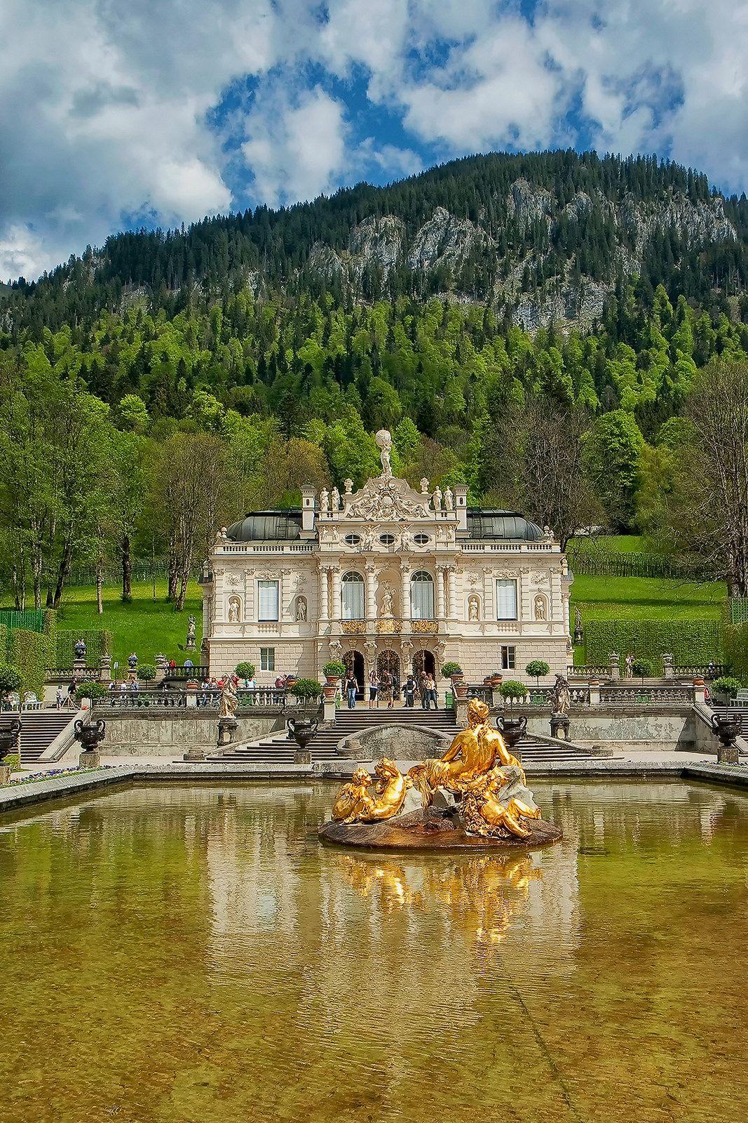 Chateau De Linderhof Baviere Linderhof Palace Germany Castles Scenic Travel