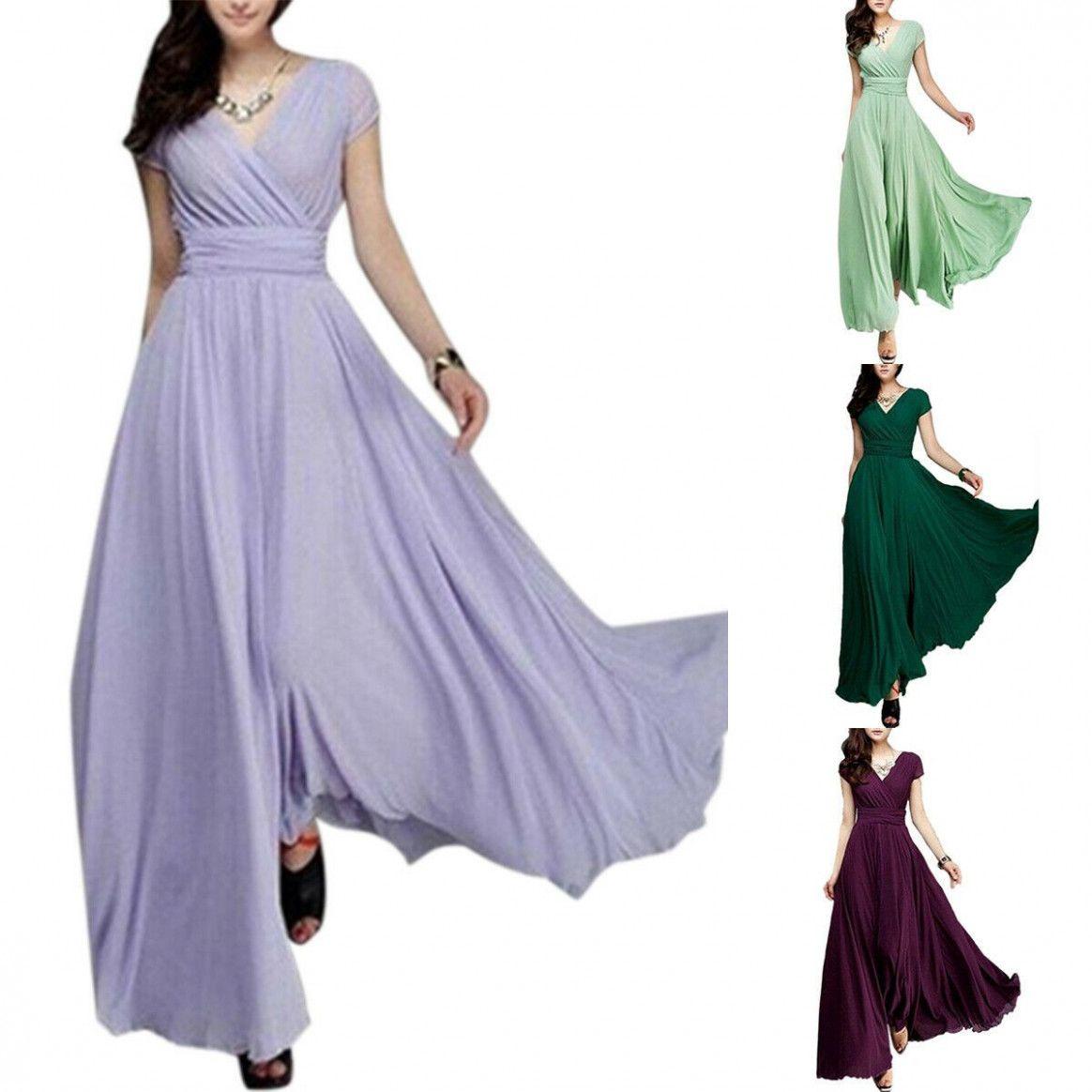 18 Kleider Maxi Festlich in 18  Damen lange kleider, Ballkleid