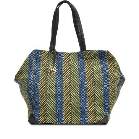 Braided straw tote. Tarissa shape, Boss Black line by Hugo Boss. #monnierfreres #bag #tarisa #tote #hugoboss: