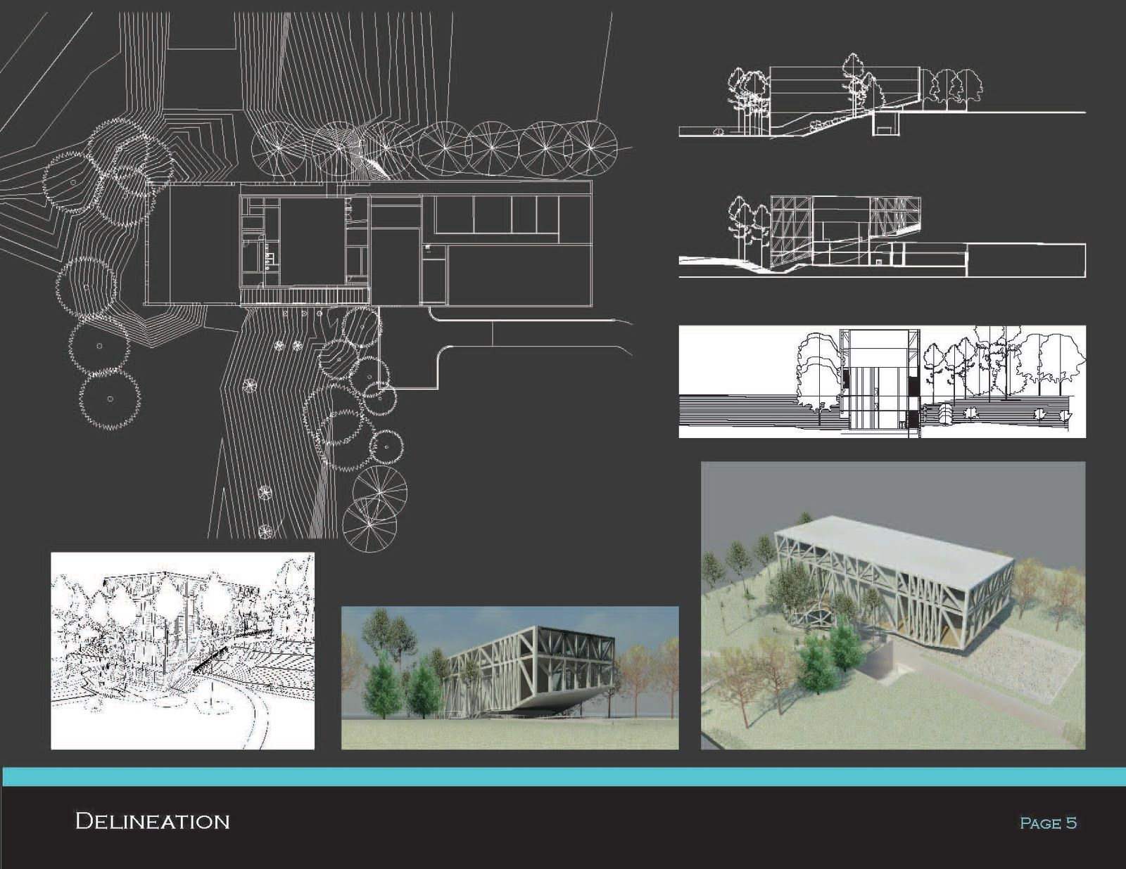 Architecture portfolio examples templates check out for Garden design portfolio