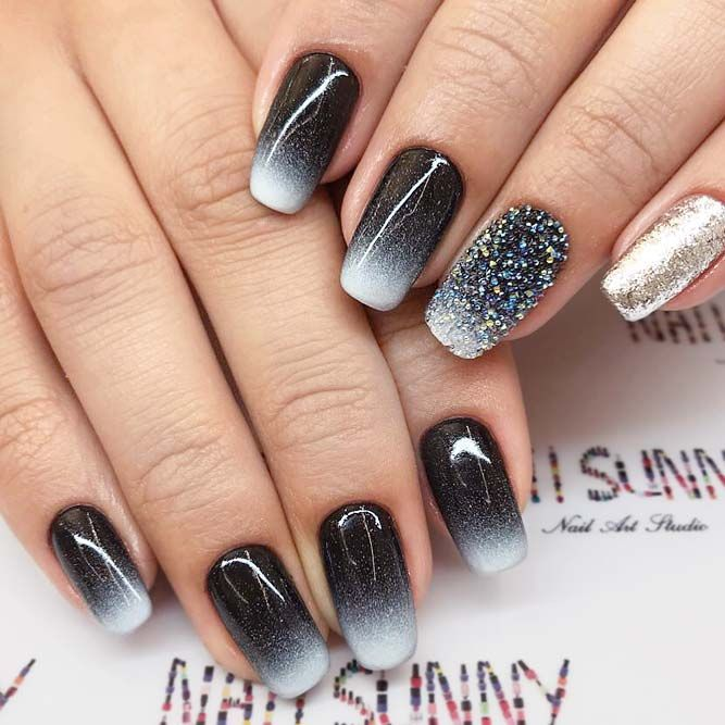 Squoval nails are something in between square and oval shapes.  Nevertheless, they are pretty trendy these days. We have gathered the  trendiest ideas to try ... - 21 Manis That Will Make You Adore Squoval Nails Nail Shapes Ideas