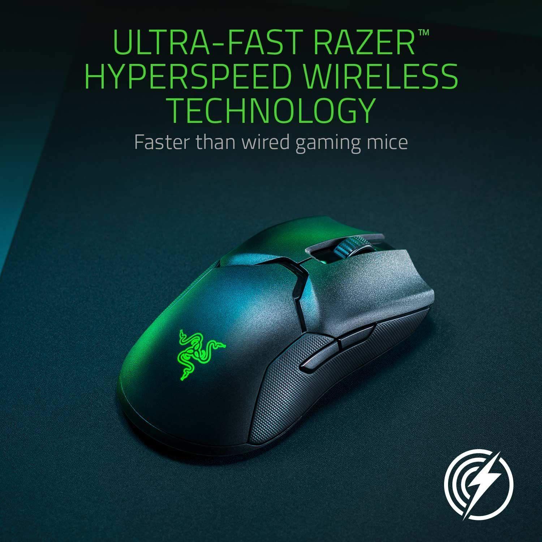 Razer Viper Ultimate Wireless Gaming Maus Ultraleicht Beidhandig Kabelgebunden Mit Optischen Sensor 16 000 Dpi Und De In 2020 Gaming Maus Tastatur Und Maus Gaming