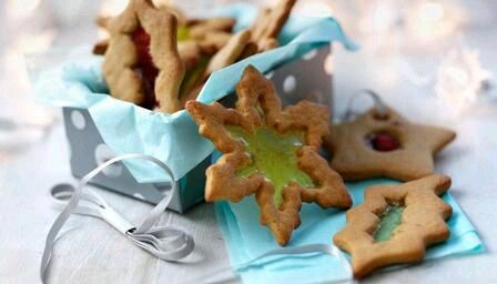 pinterest bbc food recipes stained glass window biscuits for the tree forumfinder Choice Image