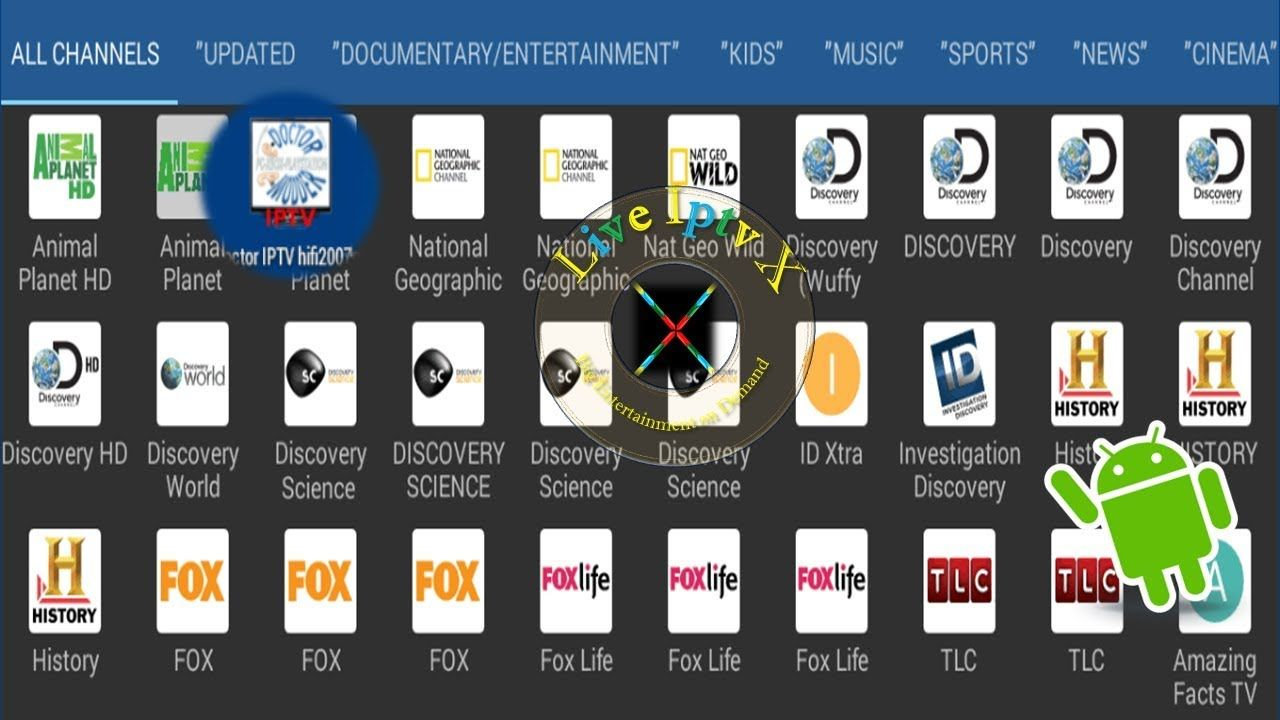 Ad Free Apk For Android Install eDoctor IPTV v5.2.1 APK