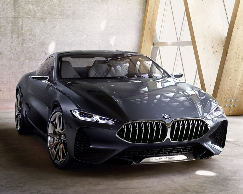 Bmw S Newly Revealed Concept 8 Series Is A Modern Day Coupe Araba Arabalar