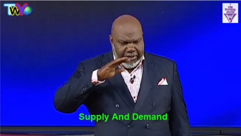 Supply and Demand - TD Jakes (January-31-2019) | Sermons