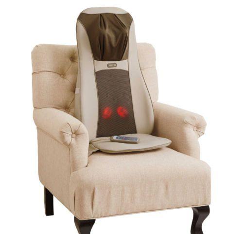 Homedics Shiatsu Back Massaging Cushion With Heat Pain Relief Elite
