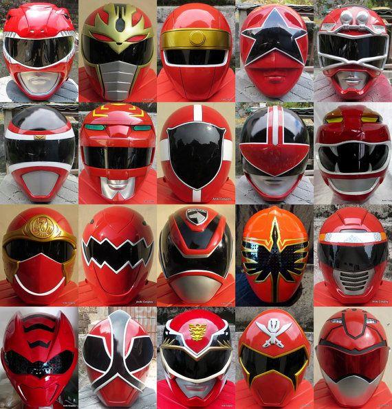 Cosplay Red Ranger Helmet By AnikiCosplay On Etsy, $355.00