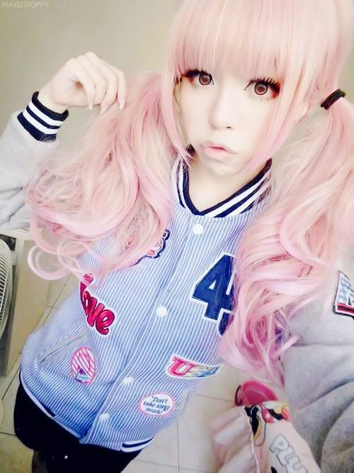 Pink Hair So Different And Cute ⊙ Kawaii Fashion