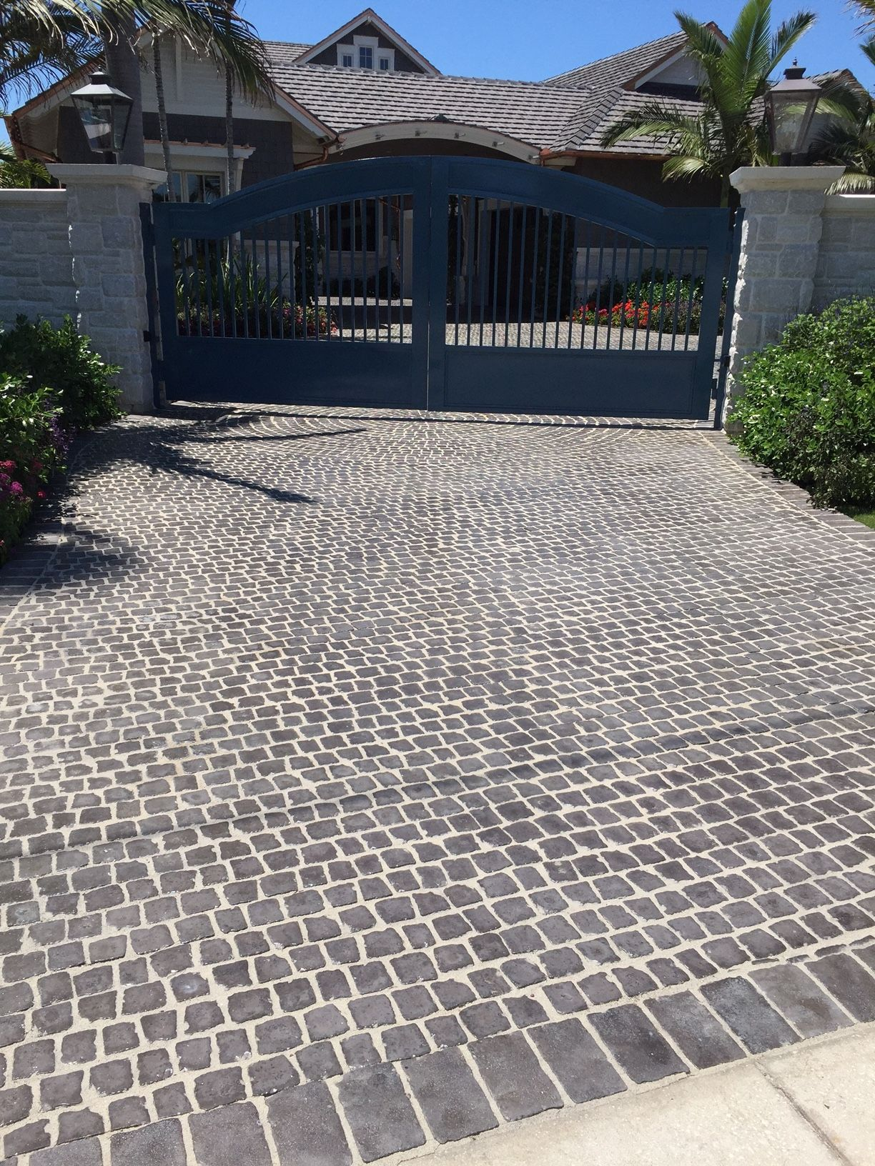 the look of beautiful hand laid cobblestone in a fraction of the time with cobble systems matted cobblestone pavers - Cobblestone Pavers