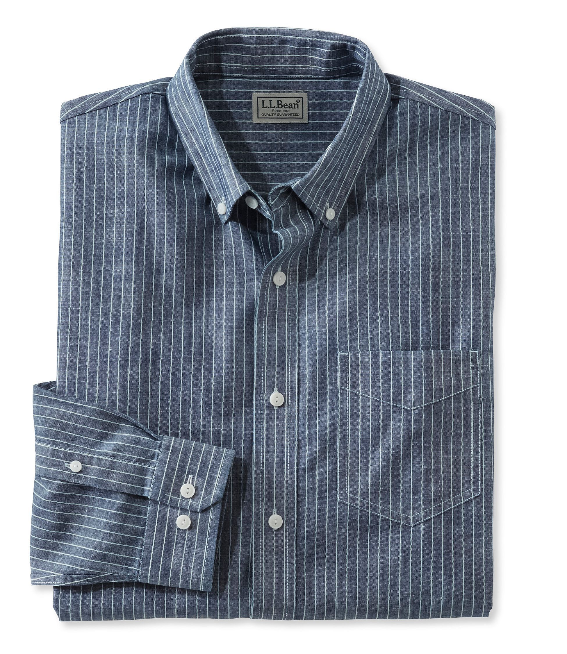 Easy-Care Chambray Shirt