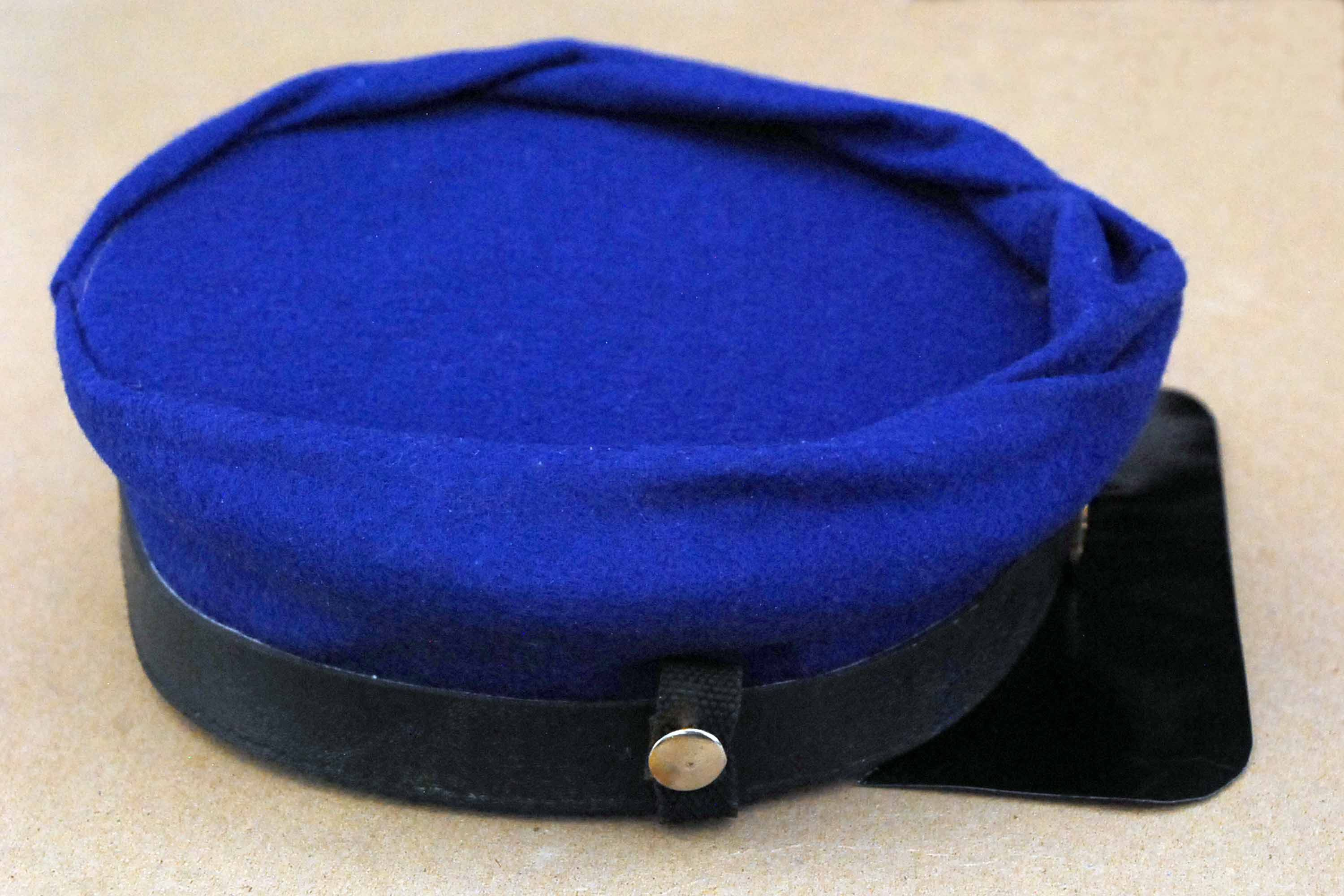 How to Make a Civil War Kepi. Both Union and Confederate soldiers wore hats  called kepis during the Civil War. The French army originally adopted the  kepi ... 792dd9d44601