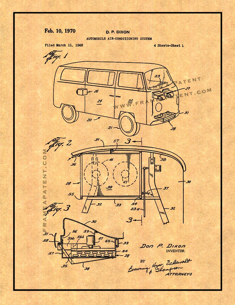 Pin by Frame a Patent on Automobile Patent Prints Patent