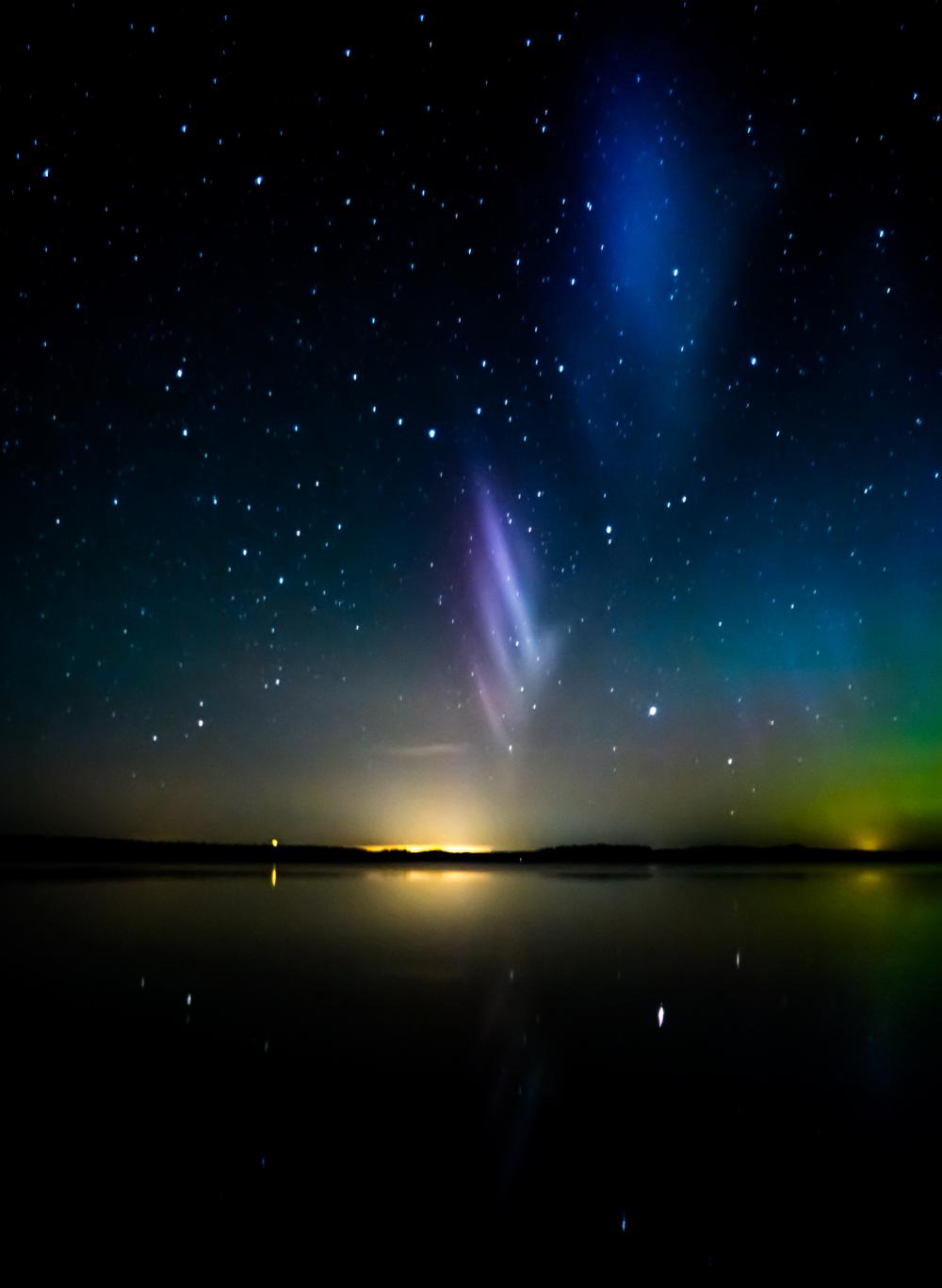 Steve Clickasnap Aurora Sky Scenery Aurora Borealis Decor