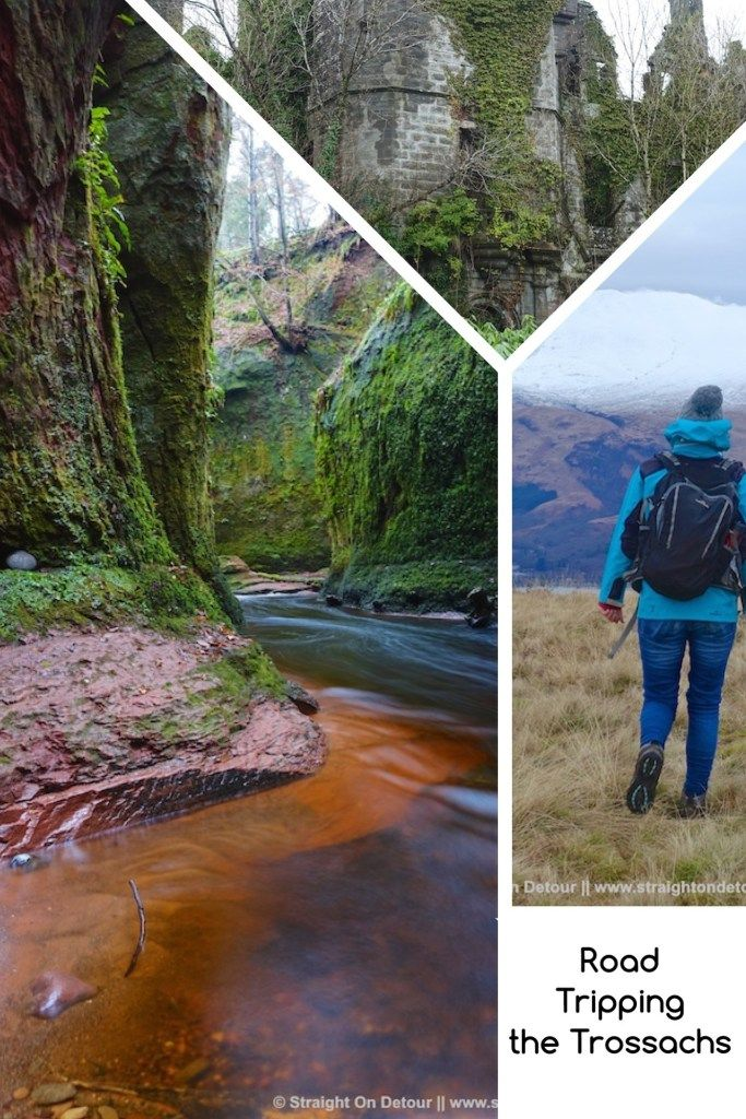 Want to Road trip the Trossachs and Loch Lomond? - Here's what we found. Scotland hikes.