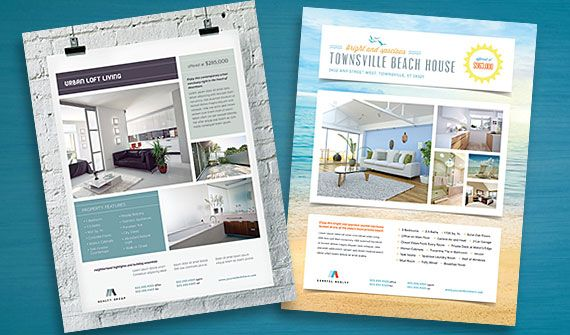 1000 images about real estate ads – Home for Sale Template