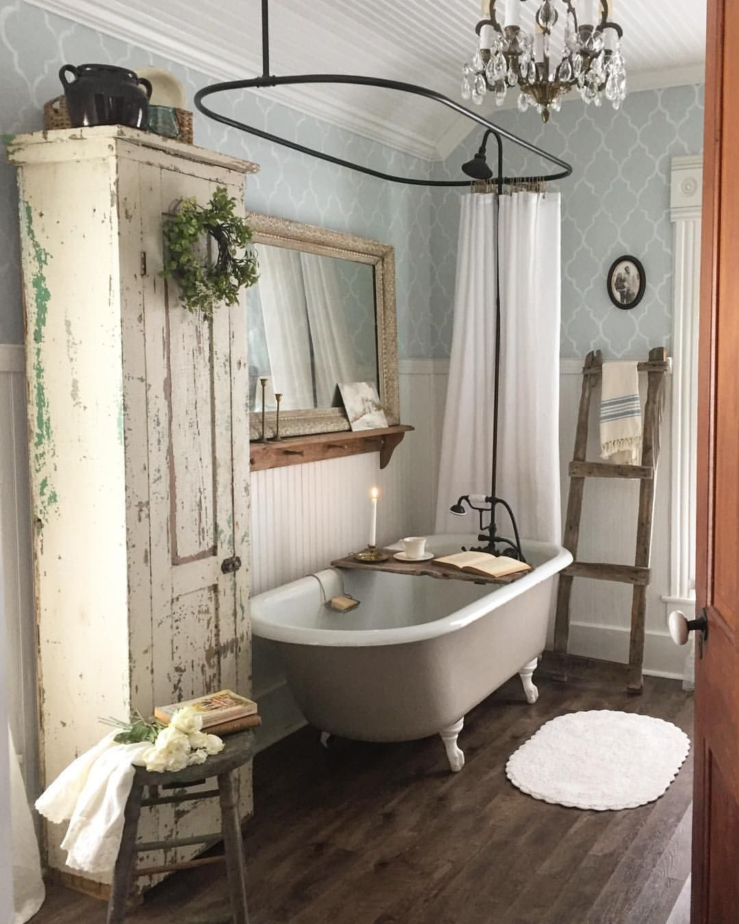 Pin by Little Yellow Cottage on ***Cozy Cottage Baths