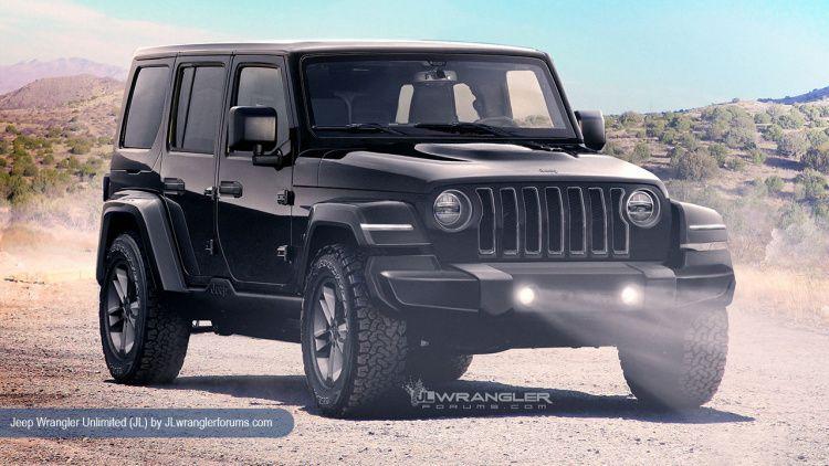 2018 jeep bandit. modren jeep 2018 jeep wrangler jl rendering in jeep bandit