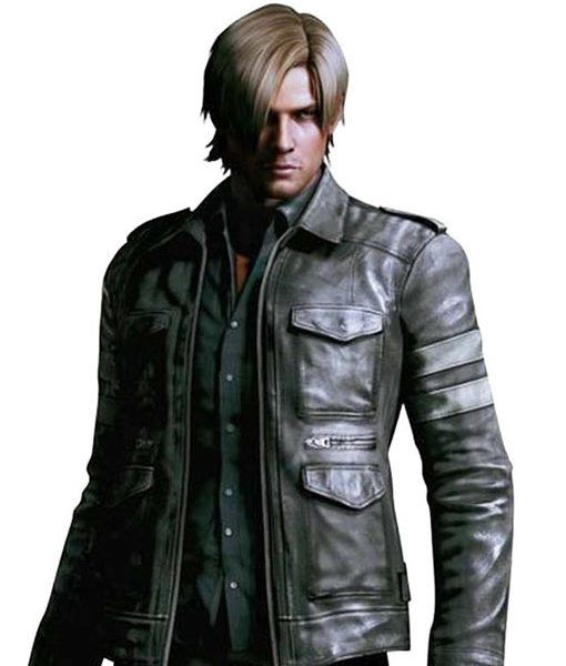 Resident Evil 6 Leather Jacket