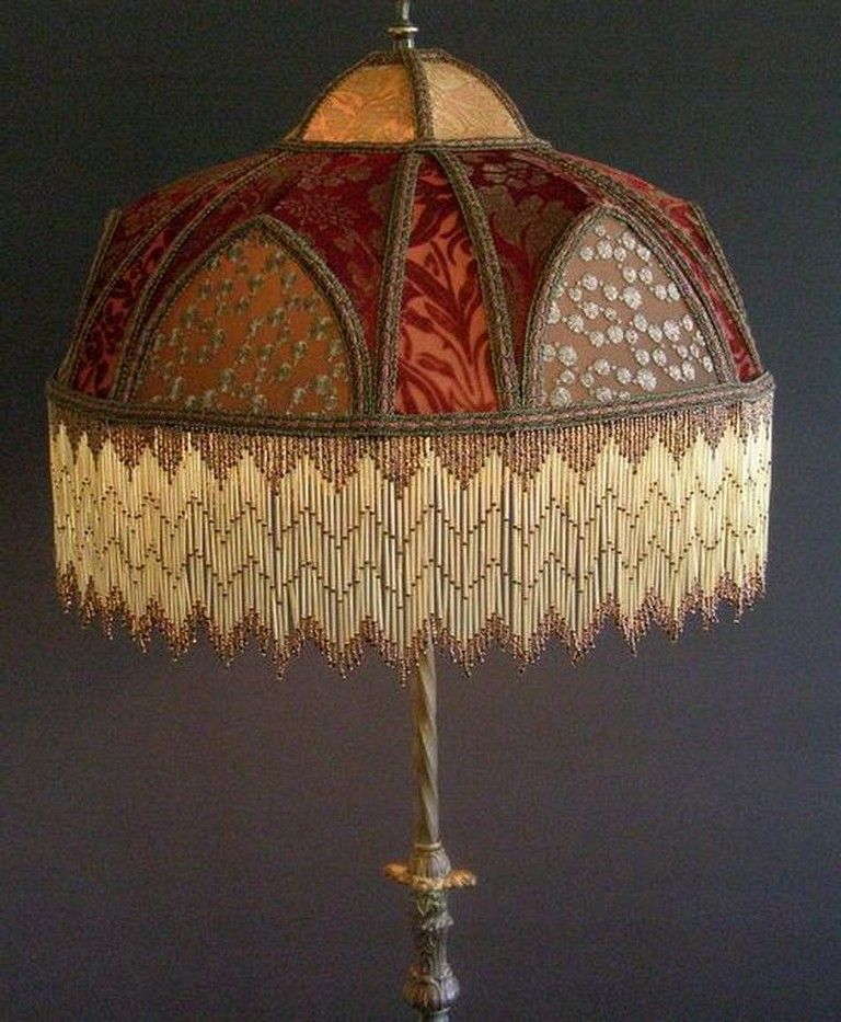 25 Gorgeous Victorian Lamp Designs For Your Classic Living Room Victorian Lamps Victorian Lampshades Custom Lamp Shades